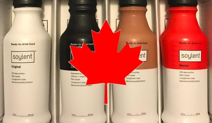 Soylent est désormais interdit au Canada